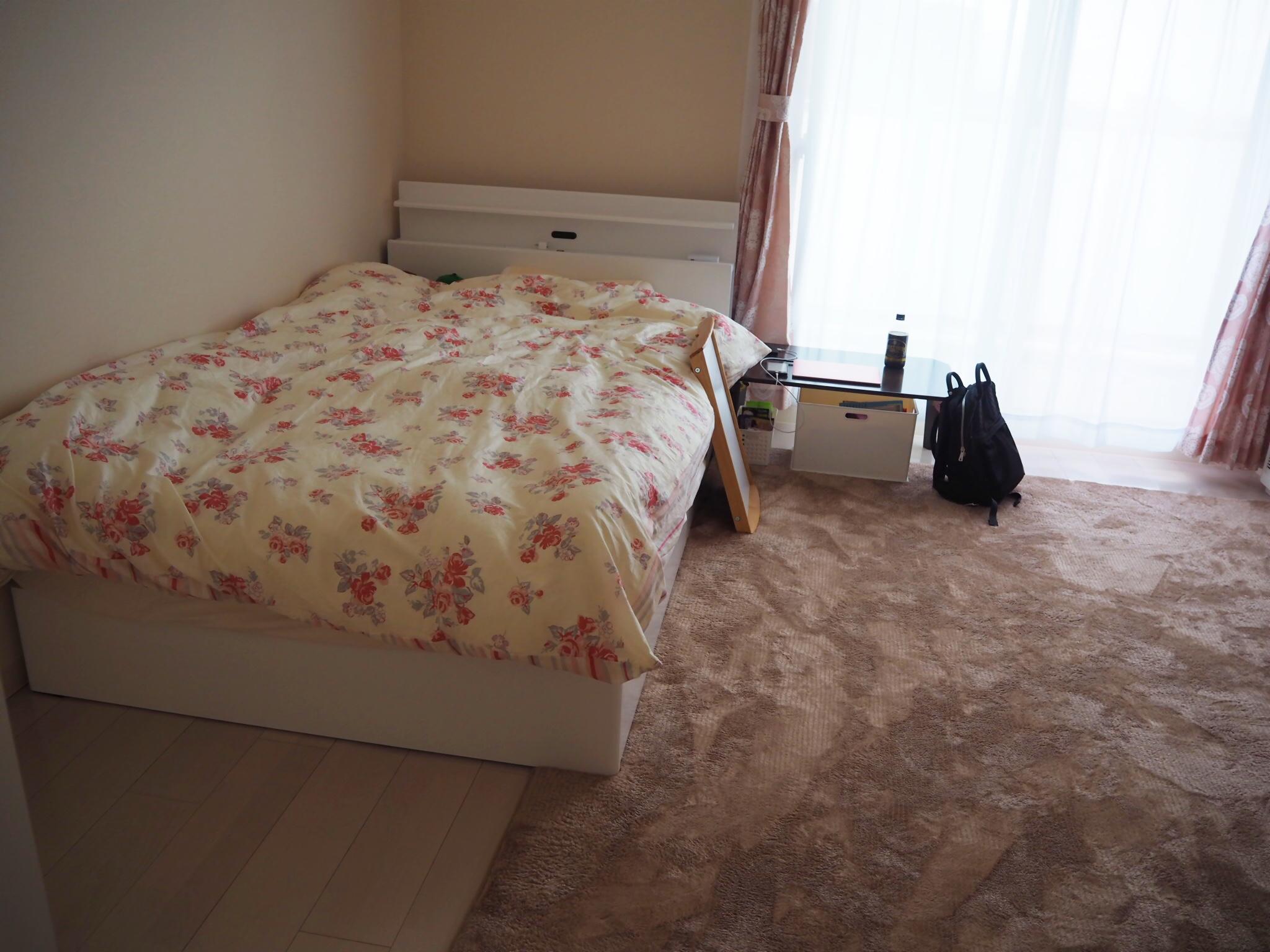 地震 寝室